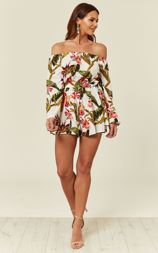 Floral Playsuit by Madam Rage