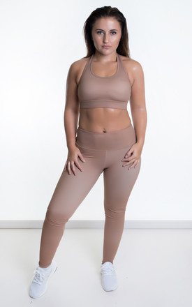 Extra High Waisted Leggings Bronze by Sculpt Activewear Product photo