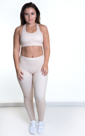 Sports Bra Nude by Sculpt Activewear