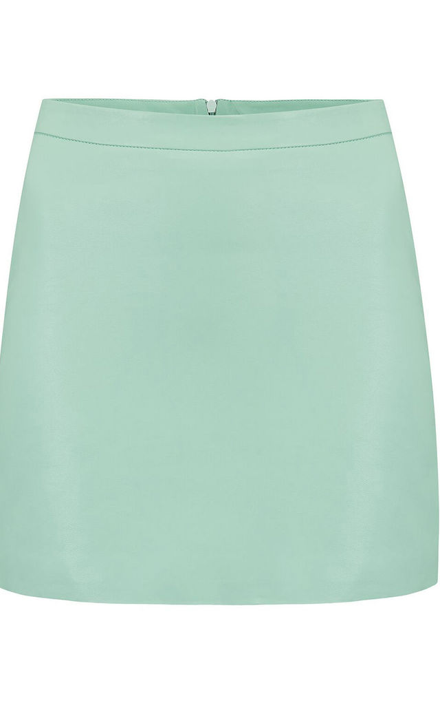 HARLEY SKIRT IN MINT GREEN image