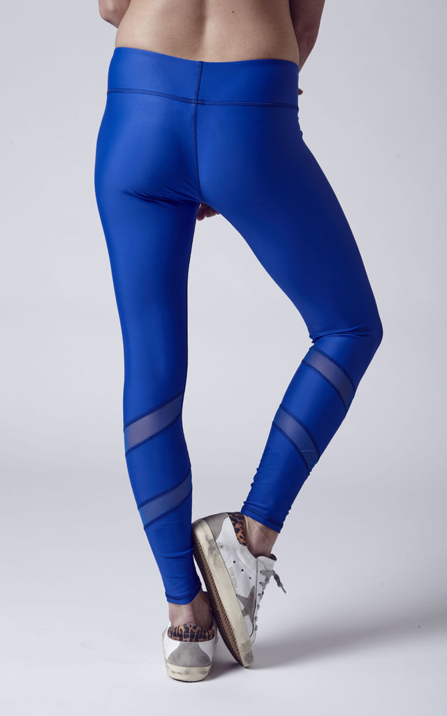 Atlanta Leggings in Royal Blue by Tiny Fish Co