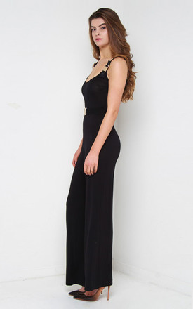 Tyra Jumpsuit Black by So & Jo Boutique