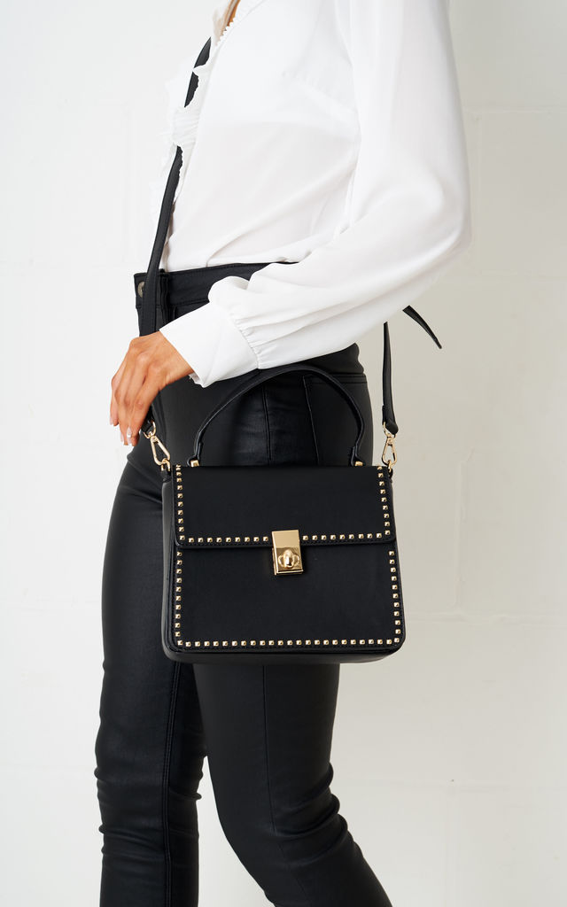 Belindya Mini Tote Bag In Black by Frontrow Limited