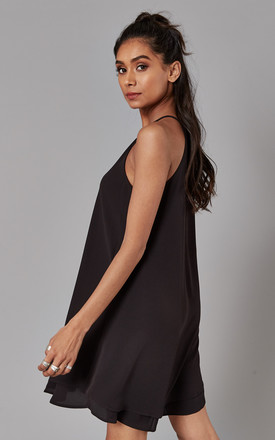 Black Layered Mini Dress by ONLY
