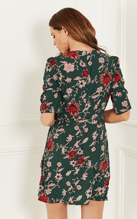 Green floral Dress by Bella and Blue