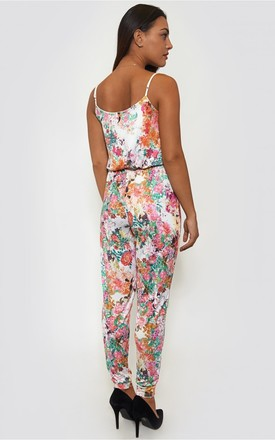 Holiday Romance Floral Jumpsuit by The Fashion Bible