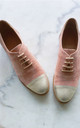 Gigi Peach Brogues by House of Spring