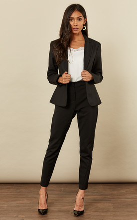 Black Tailored Blazer by VM