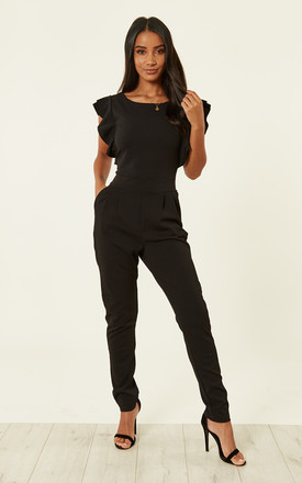 Sadie Flutter Sleeve Jumpsuit by WalG Product photo