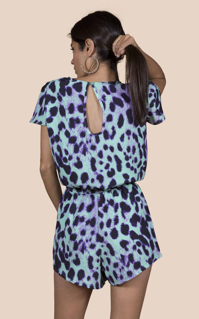 RIO PLAYSUIT IN SUMMER LEOPARD image