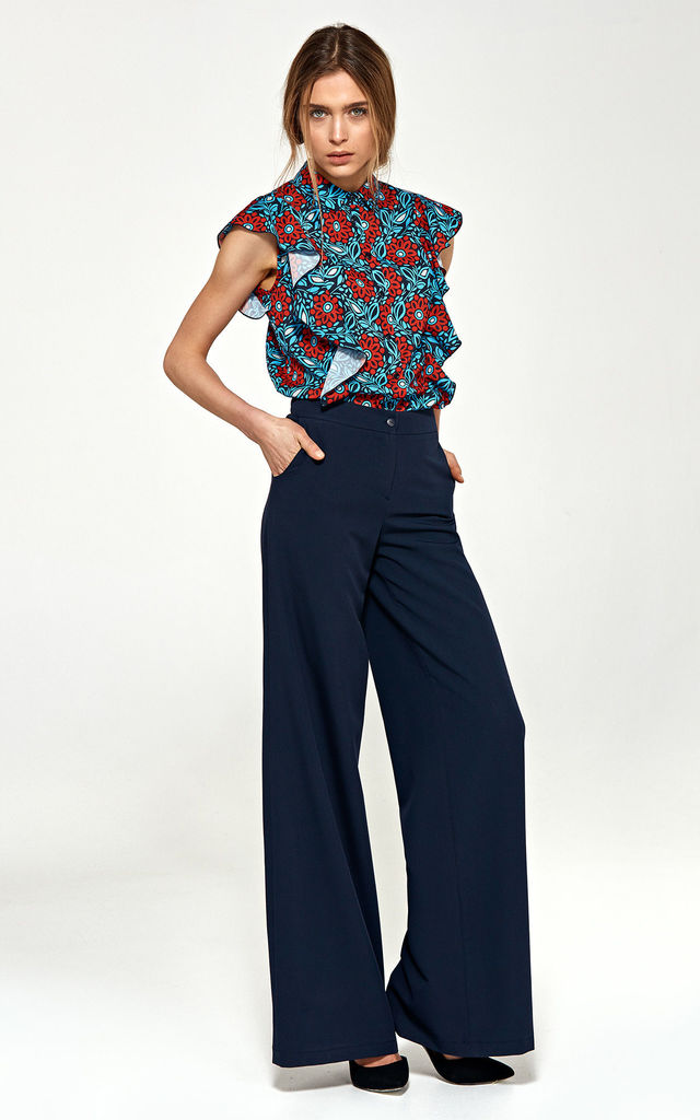 Palazzo pants - navy by so.Nife