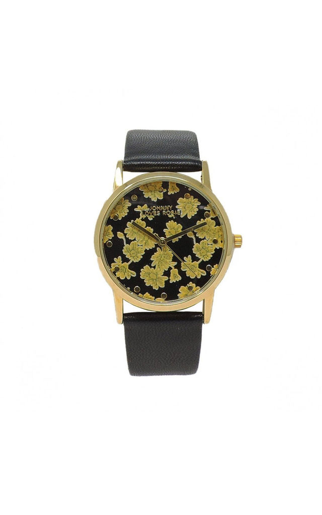 Amelia Floral Print Watch by Johnny Loves Rosie
