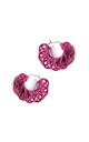 Knitted Hoops Pink by U . Urska Hvalica