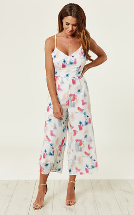 Pipit Printed Jumpsuit by Lace & Beads