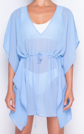 Azure Powder Blue Kaftan by AQUALUXE Product photo