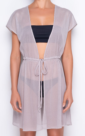 Demi Luxe Knit Champagne Pool Cover Up by AQUALUXE Product photo