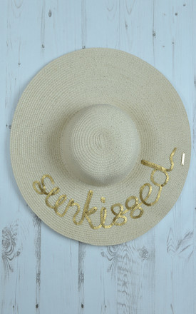 Serafina Sunkissed Sun Hat by AQUALUXE Product photo