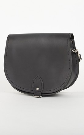 Avery Saddle Bag Vintage Black by Gweniss