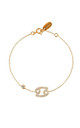 Cancer Zodiac Bracelet Gold by Latelita