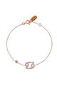 Cancer Zodiac Bracelet Rose gold by Latelita