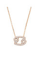Cancer Zodiac Necklace Rose gold by Latelita London