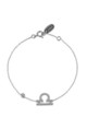 Libra Zodiac Bracelet Silver by Latelita London