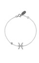 Pisces Zodiac Bracelet Silver by Latelita London