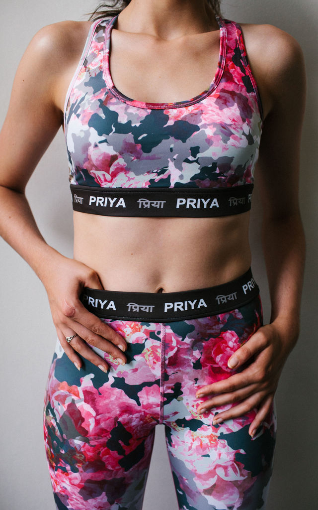 In Bloom Sports Bra by PRIYA