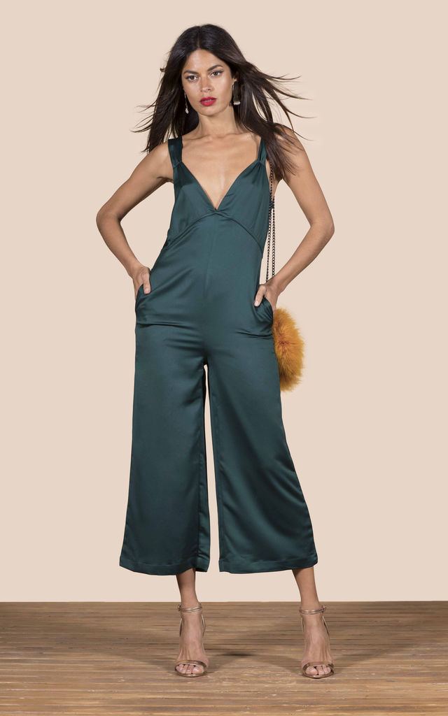 Rocco Jumpsuit In Dark Green image