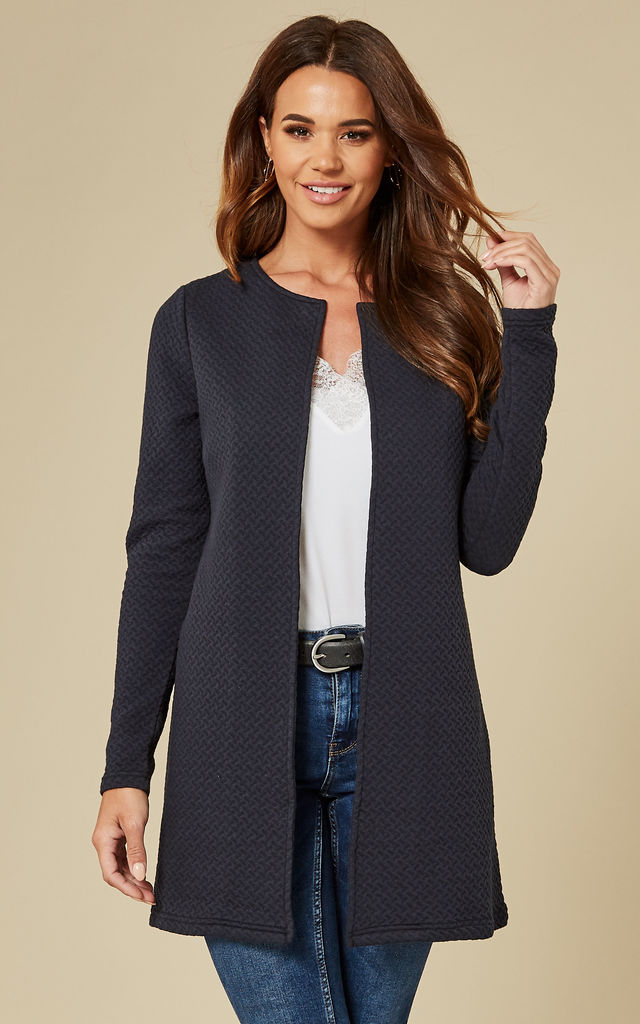 Total Eclipse Long Quilted Jacket by VILA