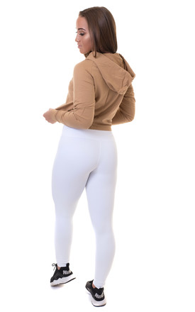 Cropped Hoodie Bronze by Sculpt Activewear