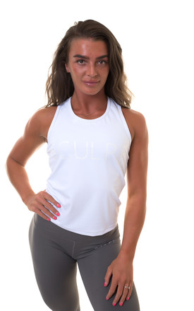 Valour Vest White by Sculpt Activewear Product photo