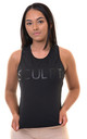 Valour Vest Black by Sculpt Activewear