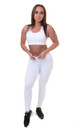 Extra High Waisted Leggings White by Sculpt Activewear