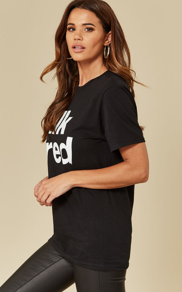 T-shirt with SilkFred logo by Shop SilkFred