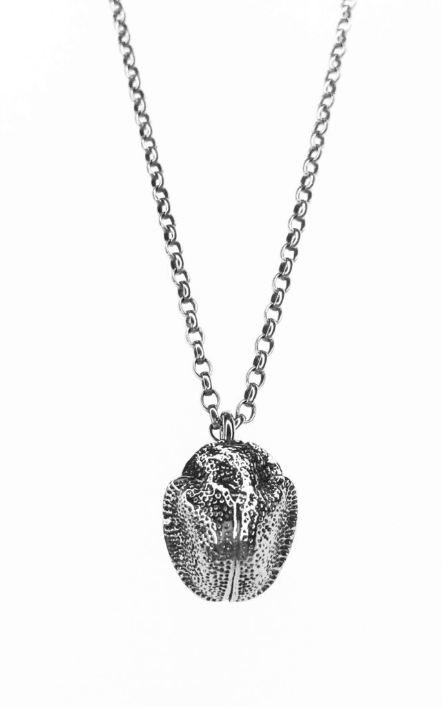 Scarab Beetle Necklace (Silver) by Rebekah Ann Jewellery
