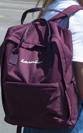 Embroidered Larnies backpack by Larnies