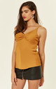 Orange High Apex Cami Top by Another Look