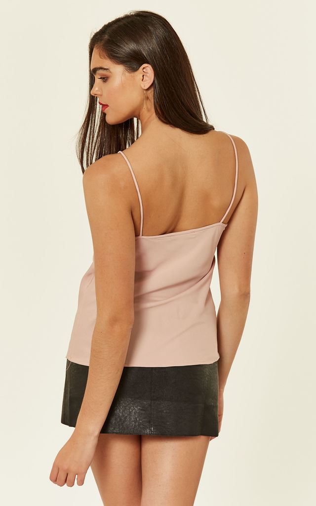 Pink High Apex Cami Top by Another Look