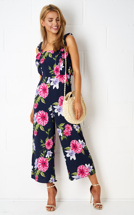 Fiyona Culotte Floral Jumpsuit by Frontrow Limited