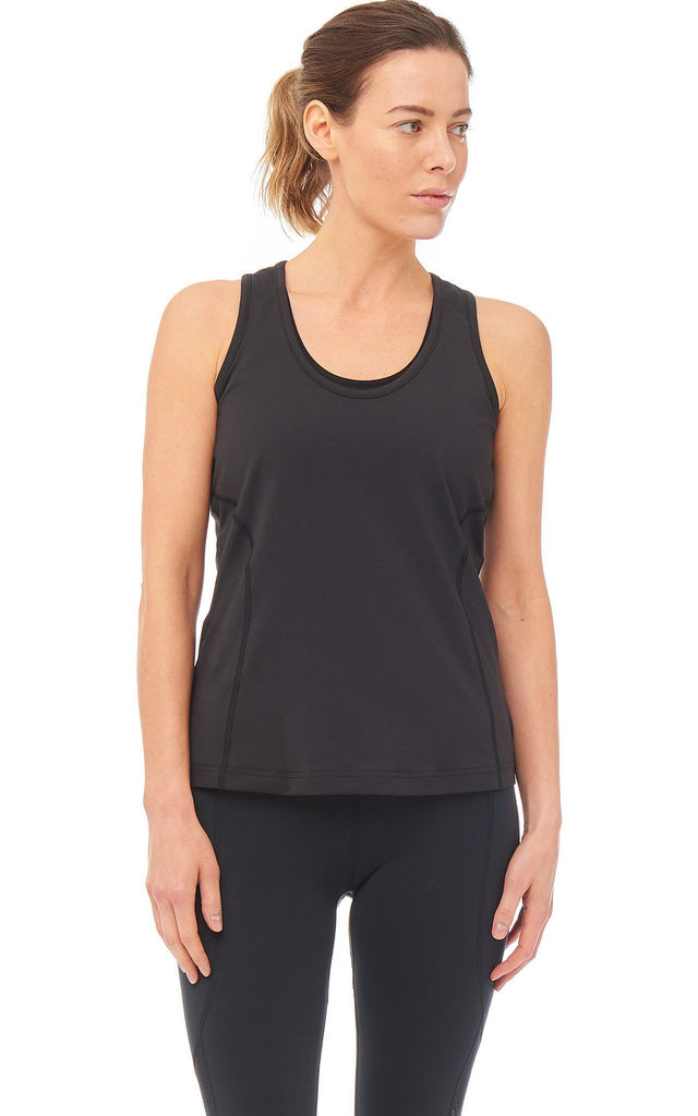 Dynamo Gym Vest In Black by Boudavida