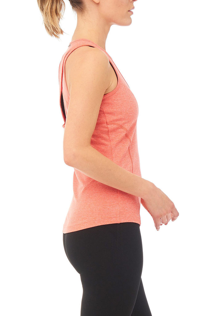 Dynamo Gym Vest In Orange by Boudavida