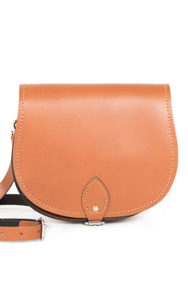 Avery Saddle Bag Dark Tan by Gweniss Product photo