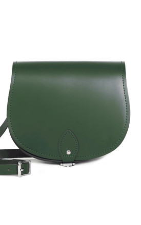 Avery Saddle Bag Bottle Green by Gweniss Product photo