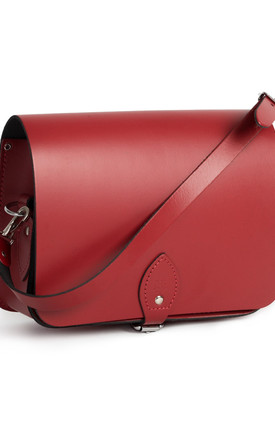 Riley Saddle Bag Scarlet Red by Gweniss