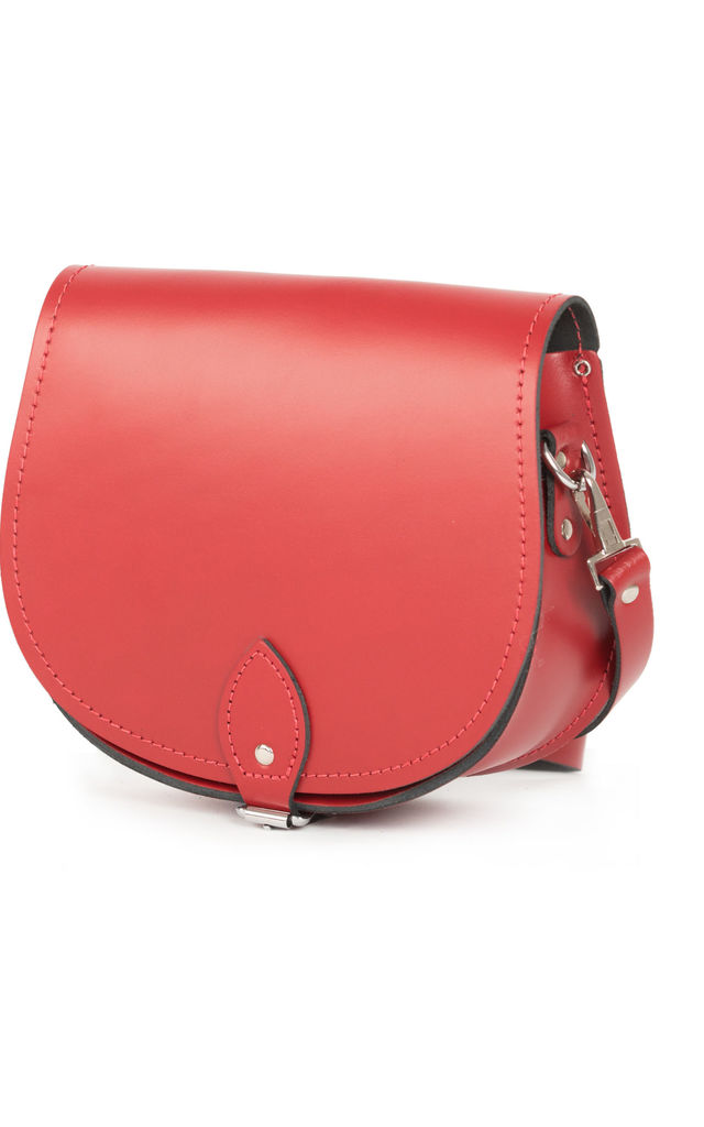 Avery Saddle Bag Scarlet Red by Gweniss