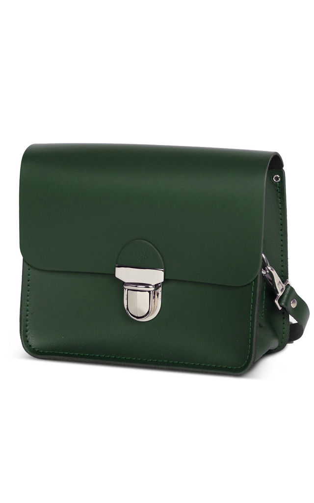 Sofia Crossbody Bag Bottle Green by Gweniss