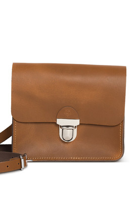 Sofia Crossbody Bag Vintage Tan by Gweniss