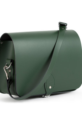 Riley Saddle Bag Bottle Green by Gweniss Product photo