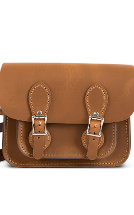 Freya Mini Satchel Vintage Tan by Gweniss Product photo